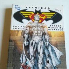 Cómics: TRINIDAD 2 SUPERMAN BATMAN WONDER WOMAN KURT BUSIEK MARK BAGLEY PLANETA DEAGOSTINI PERFECTO ESTADO. Lote 246269980