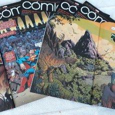 Cómics: ECC COMICS Nº 14 AL 25 CON BATMAN DE BENDIS Y SUPERMAN DE TOM KING COMPLETOS. Lote 246296170