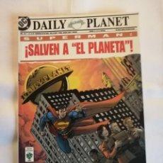 """Cómics: SUPERMAN SALVEN A """"EL PLANETA"""". Lote 246298675"""