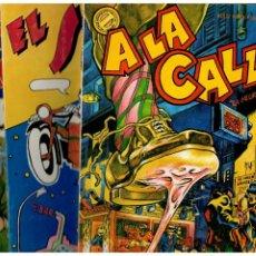 Comics : LOS TEBEOS DEL ROLLO -COMPLETA 3 TOMOS- CARAJILLO,SIDECAR Y A LA CALLE. PERFECTOS.INICIATIVAS,1976. Lote 246341030