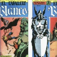 Cómics: FACSIMIL: EL CABALLERO BLANCO, COLECCION. Lote 246378050