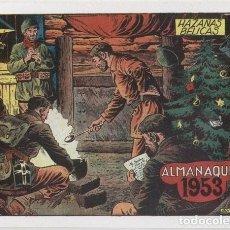 Cómics: HAZAÑAS BELICAS ALMANAQUE FACSIMIL 1953. Lote 246422385
