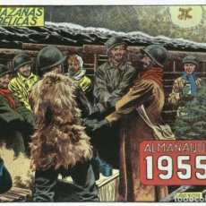 Cómics: HAZAÑAS BELICAS ALMANAQUE FACSIMIL 1955. Lote 246422425