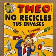 Cómics: TMEO N° 77 (2004). ELECCIONES GENERALES, NO RECICLES TUS ENVASES ¡TODAVÍA SIRVEN!. Lote 246511925