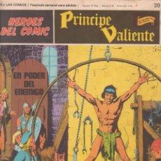 Cómics: COMIC, PRINCIPE VALIENTE, Nº 20 ED. BURU LAN 1972. Lote 246601455
