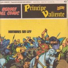 Cómics: COMIC, PRINCIPE VALIENTE, Nº 43 ED. BURU LAN 1972. Lote 246601775