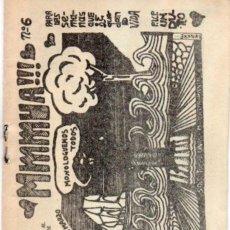 Cómics: FANZINE MMMUA!!! 6. EDICIONES ANTÍPODAS. MADRID, 1977. UNDERGROUND. Lote 246724080