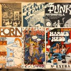 Fumetti: ROCK COMIX N° 0, 1, 2, 3, 4 Y EXTRA (BARCELONA 1976). NAZARIO, CESSEPE, MARISCAL, GALLARDO,.... Lote 246935975