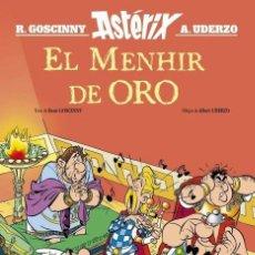 Cómics: ASTERIX EL MENHIR DE ORO (UDERZO / GOSCINNY) SALVAT - CARTONE - IMPECABLE. Lote 247352515
