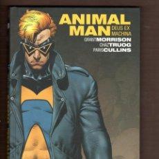Cómics: ANIMAL MAN 3 : DEUS EX MACHINA - ECC / DC BLACK LABEL / BIBLIOTECA GRANT MORRISON / TAPA DURA. Lote 247402950