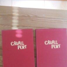Cómics: REVISTA CAVALL FORT EN DOS TOMOS AÑO 1980 COMPLETO. Lote 247650640