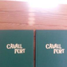 Cómics: REVISTA CAVALL FORT EN DOS TOMOS ENCUADERNADO AÑO 1981 COMPLETO. Lote 247651245