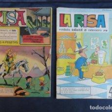Fumetti: 2 COMICS REVISTA INFANTIL - LA RISA - Nº 79 Y Nº 98.. Lote 247752255