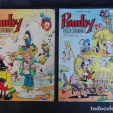 Cómics: 2 COMICS REVISTA INFANTIL - PUMBY - Nº 521 Y Nº 534.. Lote 247753485
