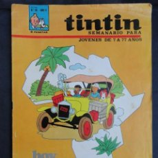 Fumetti: COMIC REVISTA INFANTIL JUVENIL - TINTIN - Nº 28. AÑO II. SEMANARIO PARA JOVENES.. Lote 247757410