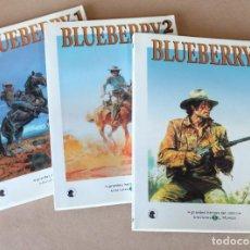 Cómics: BLUEBERRY 1 2 3 COMPLETA – GRANDES HÉROES DEL CÓMIC 44 45 46 – EL MUNDO - Y SUELTOS. Lote 247923060