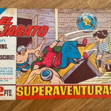 Comics : ¡¡LIQUIDACION TEBEO 1 EURO!! PEDIDO MINIMO 5 EUROS - EL JABATO 316 - ORIGINAL - GCH. Lote 248148255