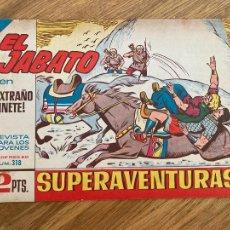 Comics : ¡¡LIQUIDACION TEBEO 1 EURO!! PEDIDO MINIMO 5 EUROS - EL JABATO 318 - ORIGINAL - GCH. Lote 248148395