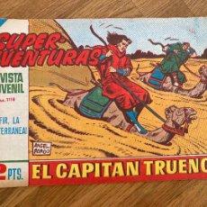Comics : ¡¡LIQUIDACION TEBEO 1 EURO!! PEDIDO MINIMO 5 EUROS - EL CAPITAN TRUENO 584 - ORIGINAL - GCH. Lote 248149145
