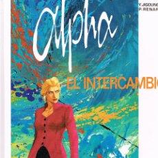 Cómics: ALPHA.EL INTERCAMBIO Nº 1. GRIJALBO. Lote 248263370