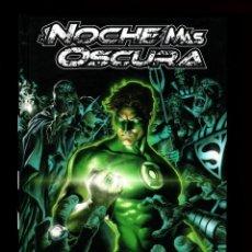 Cómics: GREEN LANTERN : LA NOCHE MAS OSCURA 1 - ECC / DC EDICIÓN XP / TAPA DURA FOSFORESCENTE. Lote 182706236