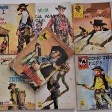 Cómics: 11 COMICS DEL OESTE DE DIVERSAS COLECCIONES. Lote 248737530