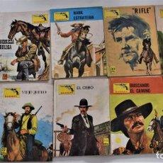 Cómics: 9 COMIC COLECCIÓN SHERIFF Y 1 COLECCIÓN SENDAS SALVAJES. Lote 248738635