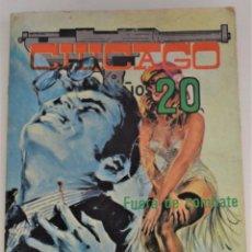 Cómics: CHICAGO AÑOS 20 Nº 3 - FUERA DE COMBATE - EDICIONES ELVIBERIA. Lote 248739390