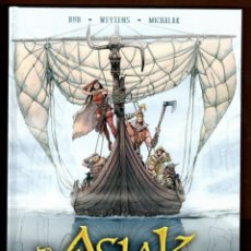 Cómics: ASLAK 1 2 3 COMPLETA - YERMO / EDICIÓN INTEGRAL / COMIC EUROPEO / TAPA DURA. Lote 263581930