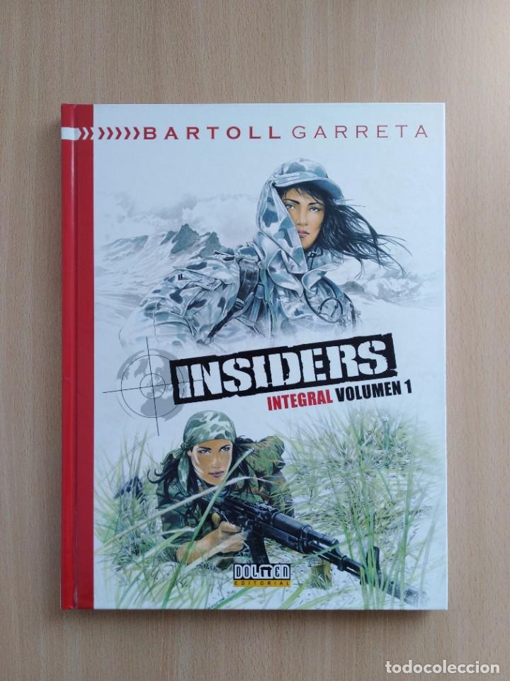 Cómics: INSIDERS INTEGRAL 1-2-3. Bartoll/Garreta. Dolmen Editorial - Foto 2 - 248994325