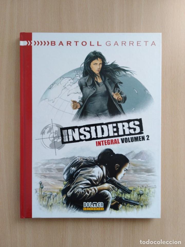 Cómics: INSIDERS INTEGRAL 1-2-3. Bartoll/Garreta. Dolmen Editorial - Foto 3 - 248994325