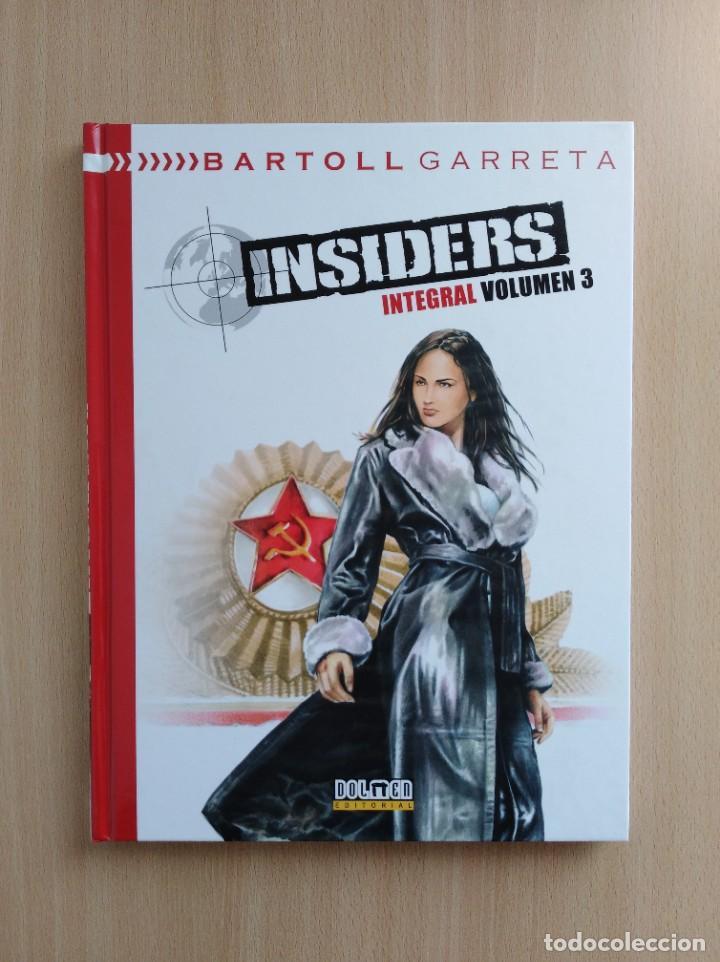 Cómics: INSIDERS INTEGRAL 1-2-3. Bartoll/Garreta. Dolmen Editorial - Foto 4 - 248994325