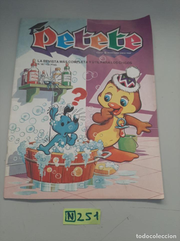 PETETE (Tebeos y Comics - Comics Colecciones y Lotes Avanzados)