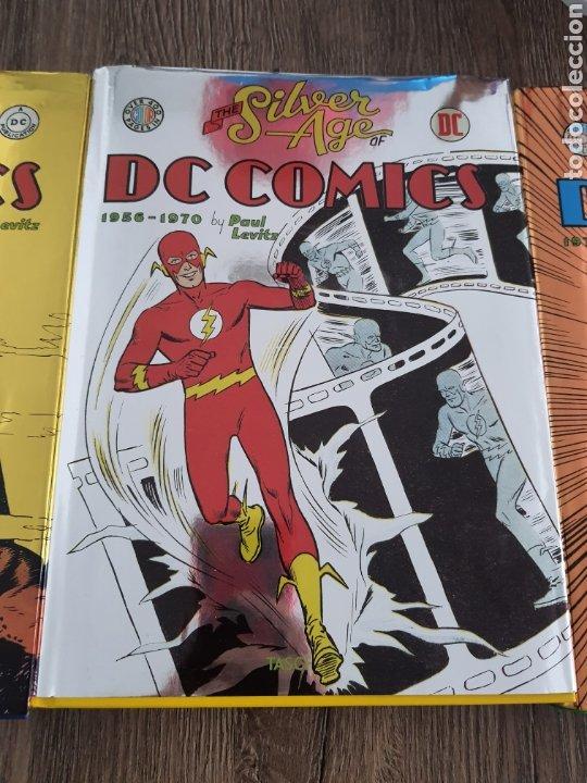 Cómics: DC COMICS TASCHEN XL OVER 400 COLOR GOLDEN, SILVER Y BRONZE AGE. 1935-1984. Tapa dura - Foto 3 - 249166760