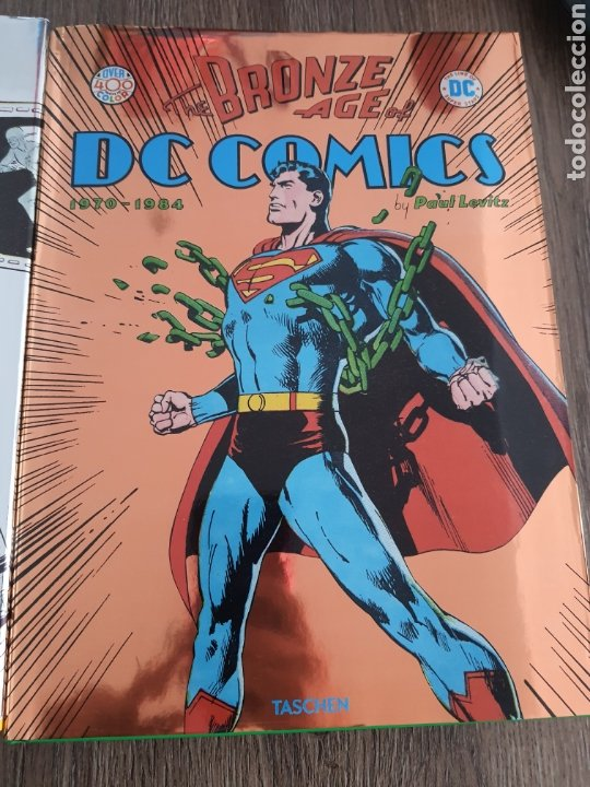 Cómics: DC COMICS TASCHEN XL OVER 400 COLOR GOLDEN, SILVER Y BRONZE AGE. 1935-1984. Tapa dura - Foto 4 - 249166760