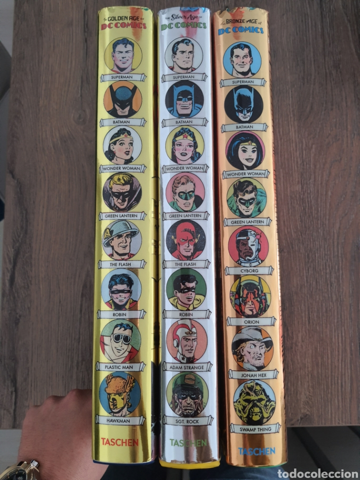 Cómics: DC COMICS TASCHEN XL OVER 400 COLOR GOLDEN, SILVER Y BRONZE AGE. 1935-1984. Tapa dura - Foto 5 - 249166760