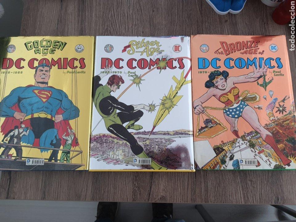 Cómics: DC COMICS TASCHEN XL OVER 400 COLOR GOLDEN, SILVER Y BRONZE AGE. 1935-1984. Tapa dura - Foto 6 - 249166760