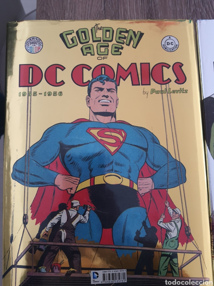 Cómics: DC COMICS TASCHEN XL OVER 400 COLOR GOLDEN, SILVER Y BRONZE AGE. 1935-1984. Tapa dura - Foto 7 - 249166760
