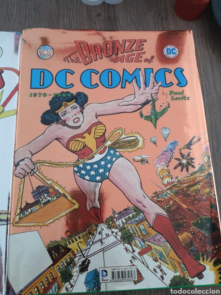 Cómics: DC COMICS TASCHEN XL OVER 400 COLOR GOLDEN, SILVER Y BRONZE AGE. 1935-1984. Tapa dura - Foto 9 - 249166760