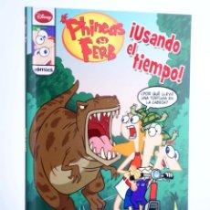 Cómics: PHINEAS Y FERB. USANDO EL TIEMPO (JOHN GREEN) LIBROS DISNEY, 2012. OFRT ANTES 6,95E. Lote 249449360
