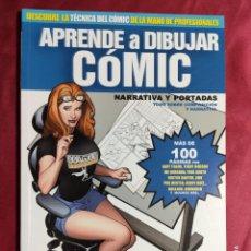 Cómics: APRENDE A DIBUJAR COMIC. Nº 6. NARRATIVA Y PORTADAS. DOLMEN.. Lote 250248370