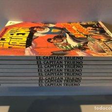 Comics: CAPITAN TRUENO . LOTE COLECCION DEL 1 AL 8 . PRIMERA EDICION HISTORICA. Lote 250296955