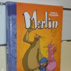Cómics: MERLIN INTEGRAL 1 - DOLMEN OFERTA (ANTES 29,95 EU.). Lote 278872283