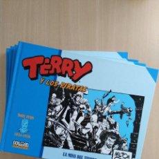 Cómics: TERRY Y LOS PIRATAS/1-2-3-4. MILTON CANIFF. DOLMEN EDITORIAL. Lote 251968070
