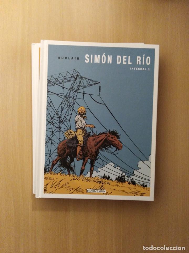 SIMÓN DEL RÍO INTEGRAL 1 - 2. AUCLAIR (Tebeos y Comics - Comics otras Editoriales Actuales)
