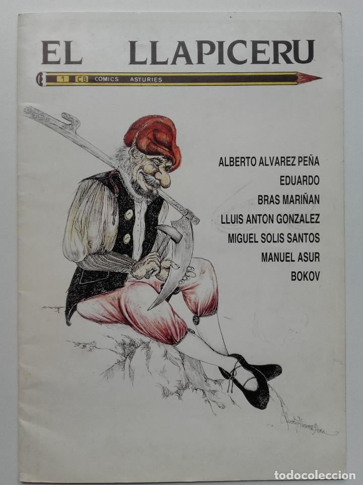 EL LLAPICERU 1 - COMIC EN ASTURIANO - CONCEYU BABLE - ASTURIAS - 1988 (Tebeos y Comics - Comics otras Editoriales Actuales)