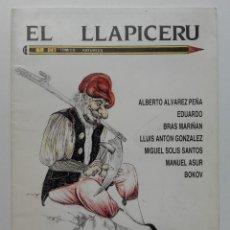 Cómics: EL LLAPICERU 1 - COMIC EN ASTURIANO - CONCEYU BABLE - ASTURIAS - 1988. Lote 252062960