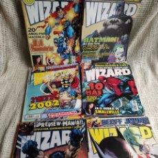 Cómics: WIZARD : LA REVISTA DE COMIC - LOTE DE 22 EJEMPLARES. Lote 57114629