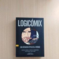Cómics: LOGICÓMIX. APOTOLOS DOXIADIS/CHRISTOS H. PAPADIMITRIOU. Lote 252329195