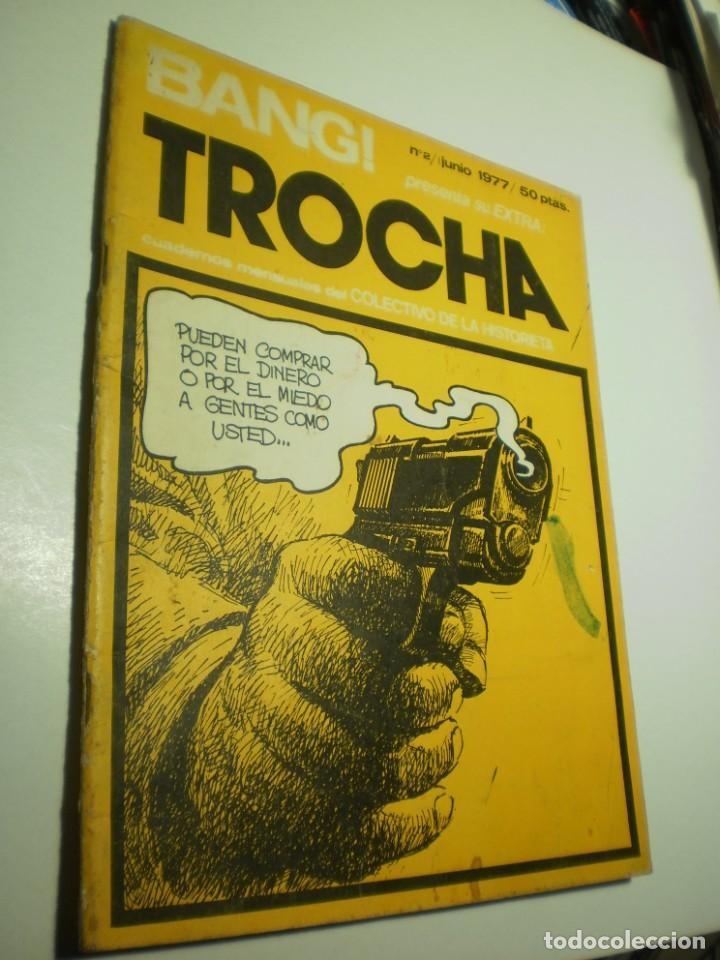 BANG TROCHA Nº 2 JUNIO 1977 (ESTADO NORMAL, LEER) (Tebeos y Comics Pendientes de Clasificar)